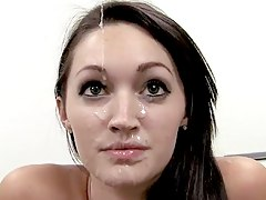 cumshot webcam, cum, facial, office, beauty