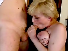 amateur tease, tits, sucking, blowjob, boobs, dick, oral, mature